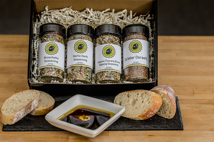 Mediterranean Meals - Olive Lucy Gourmet Pantry Seasoning Gift Box