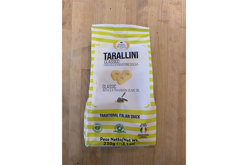 Tarallini Classic with Extra Virgin Olive Oil