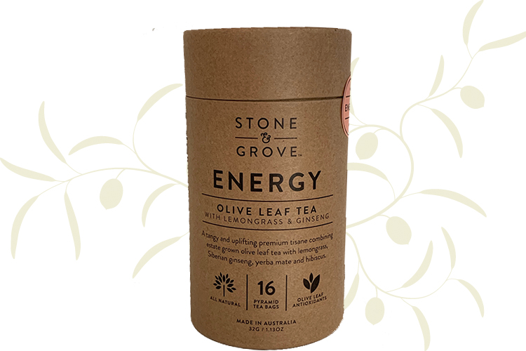 Stone & Grove Energy Olive Leaf Tea