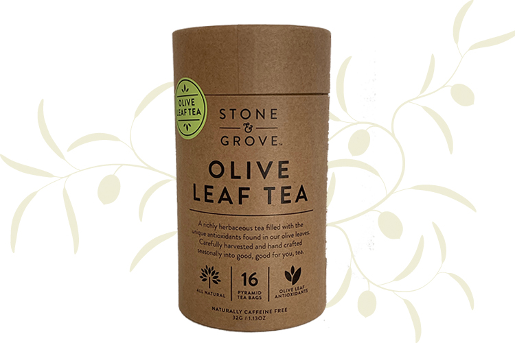 Stone & Grove Olive Leaf Tea