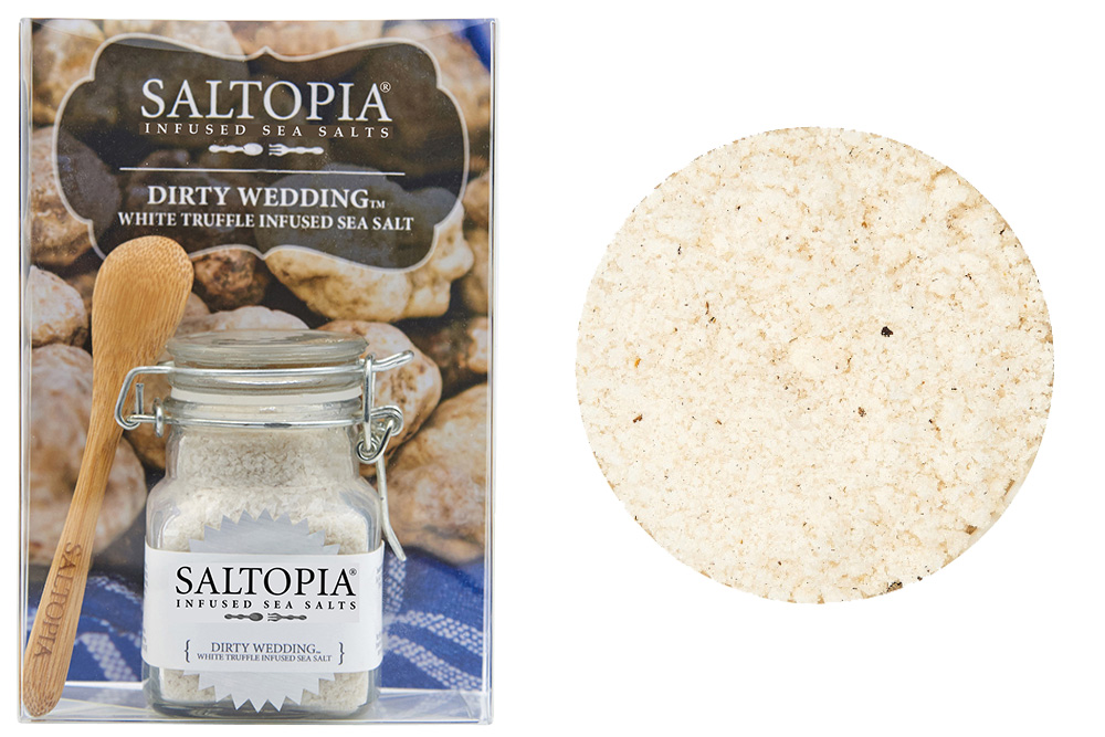 Dirty Wedding White Truffle Infused Sea Salt (3.4 oz)